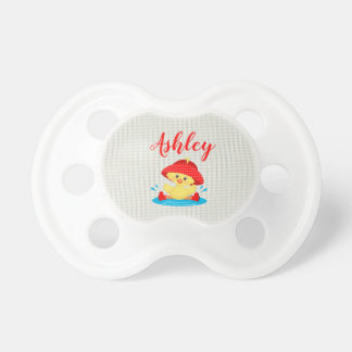 Rainy Day Puddle Duck Red Rain Hat Boots Baby Dummy