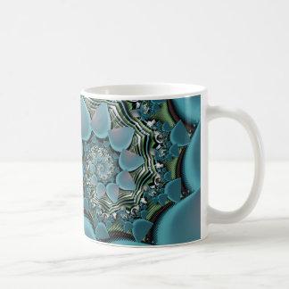Rainy Day Spiral Fractal Coffee Mug