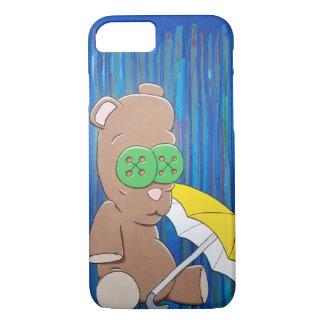 Rainy Day Teddy iPhone Case