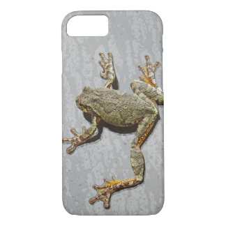 Rainy Day Tree Frog On Glass iPhone 8/7 Case