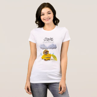 Rainy Days are perfect days to cuddle T-Shirt