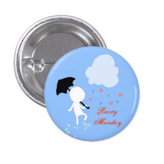 Rainy Monday Rain Rain Button