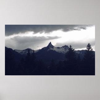 Rainy Peak Poster