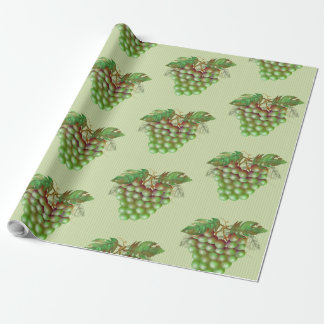 "RAISAIN GRAPES  30"" x 60'  CARTOON Wrapping Paper2 Wrapping Paper"