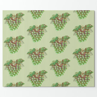 "RAISAIN GRAPES  30"" x 6'   CARTOON Wrapping Paper2 Wrapping Paper"