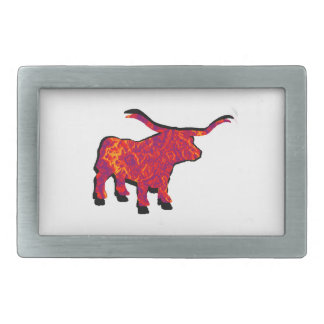 Raise the Beast Rectangular Belt Buckle