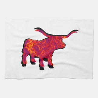 Raise the Beast Tea Towel