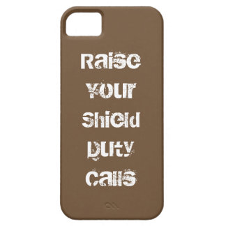 Raise Your Shield iPhone 5 Cases