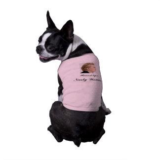 Raised by a Nasty Woman Sleeveless Dog Shirt
