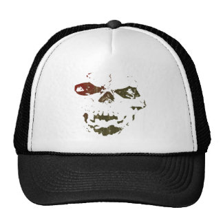 Raised By Demons skull logo Cap