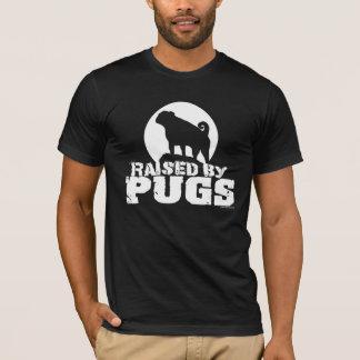 RAISED BY PUGS Dark T-Shirt