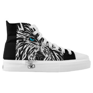 Raised by wolves printed shoes