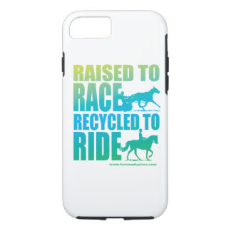 Raised to Race Recycled to Ride iPhone 7 case