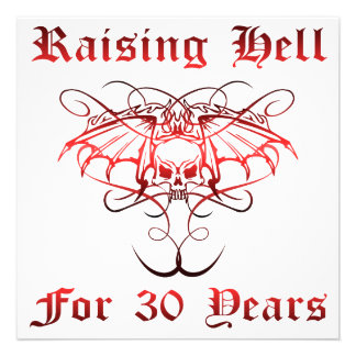 Raising Hell For 30 Years Announcement