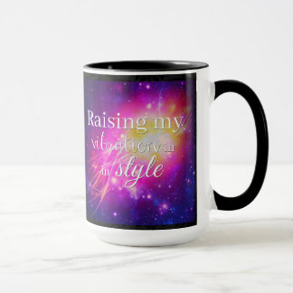 Raising My Vibration In Style Mug