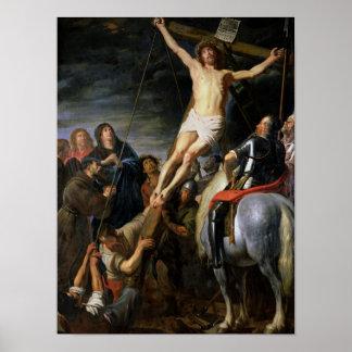 Raising the Cross, 1631-37 Poster