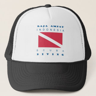 Raja Ampat Indonesia Trucker Hat