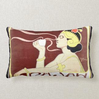 Rajah Art Nouveau Lumbar Pillow