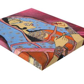 Rajasthani Bani Thani Canvas Print