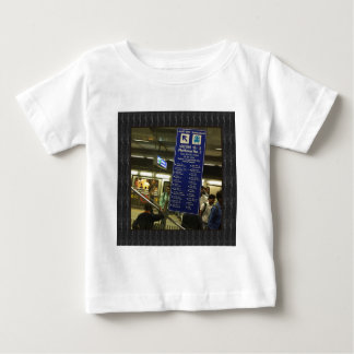 Rajiv Chowk New Delhi Metro Indian Railways Pride Baby T-Shirt