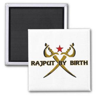 Rajput By Birth Red Star Refrigerator Magnet