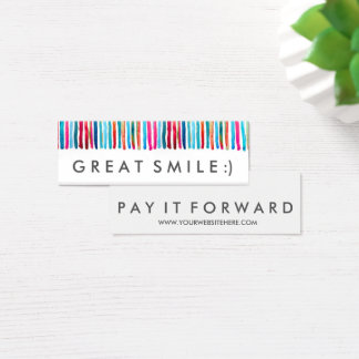RAK Great Smile Pay It Forward Cards