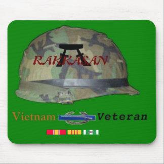 Rakkasan Vietnam Vet mousepad with CIB Design
