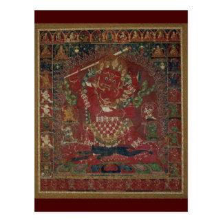 Rakta Yamari Tibetan Buddhist Deity Postcard