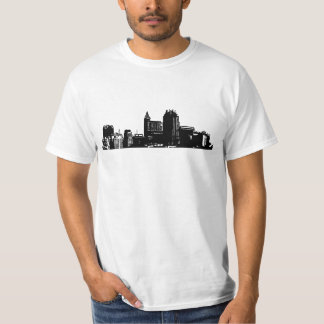 Raleigh - 919 (Black Logo) 2 Sides T-Shirt