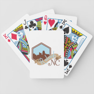 Raleigh NC Bicycle Playing Cards