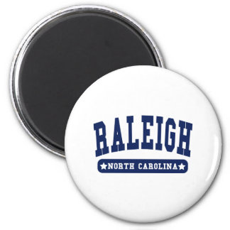 Raleigh North Carolina College Style tee shirts Magnet