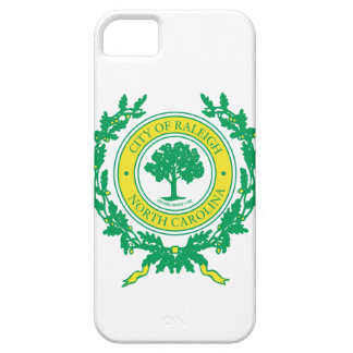 Raleigh, North Carolina Seal iPhone 5 Covers