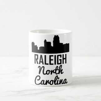 Raleigh North Carolina Skyline Coffee Mug