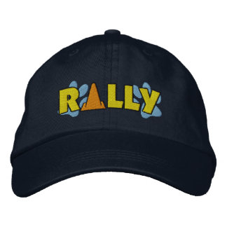 Rally Cone Embroidered Baseball Caps
