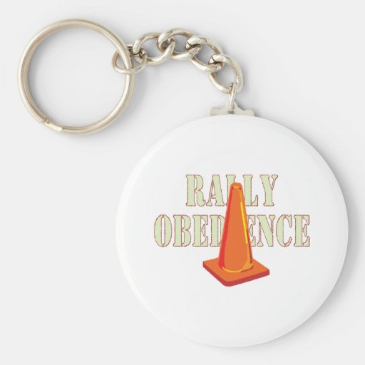 Rally Obedience Key Chains