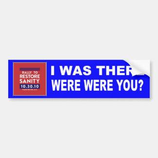 Rally to Restore Sanity Bumper Sticker