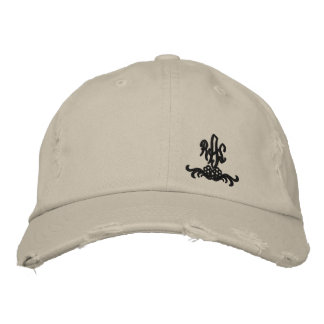 Ralph lauren and nigel embroidered hat