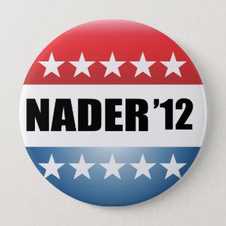 RALPH NADER 10 CM ROUND BADGE