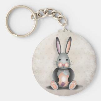 Ralph the Patchwork Rabbit - Key Chain