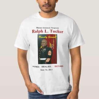 Ralph Tucker Retirement Shirt