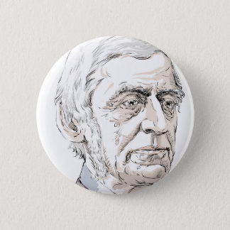 Ralph Waldo Emerson 6 Cm Round Badge