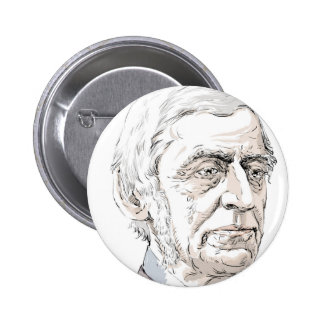 Ralph Waldo Emerson 6 Cm Round Badge