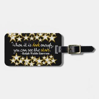 Ralph Waldo Emerson Inspirational Life Quotes Gift Bag Tag