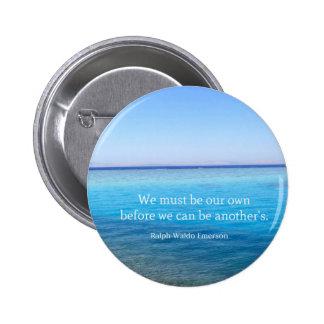 Ralph Waldo Emerson love quote Buttons