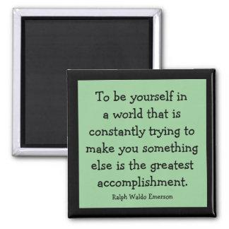 ralph waldo emerson message square magnet