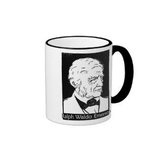 Ralph Waldo Emerson Ringer Coffee Mug