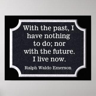 Ralph Waldo Emerson quote - art print