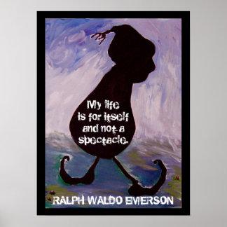 Ralph Waldo Emerson -  Quote - Poster