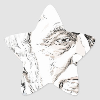 Ralph Waldo Emerson Star Sticker