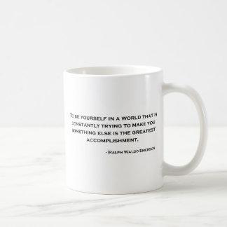 Ralph Waldo Emerson Wise Quote Mug